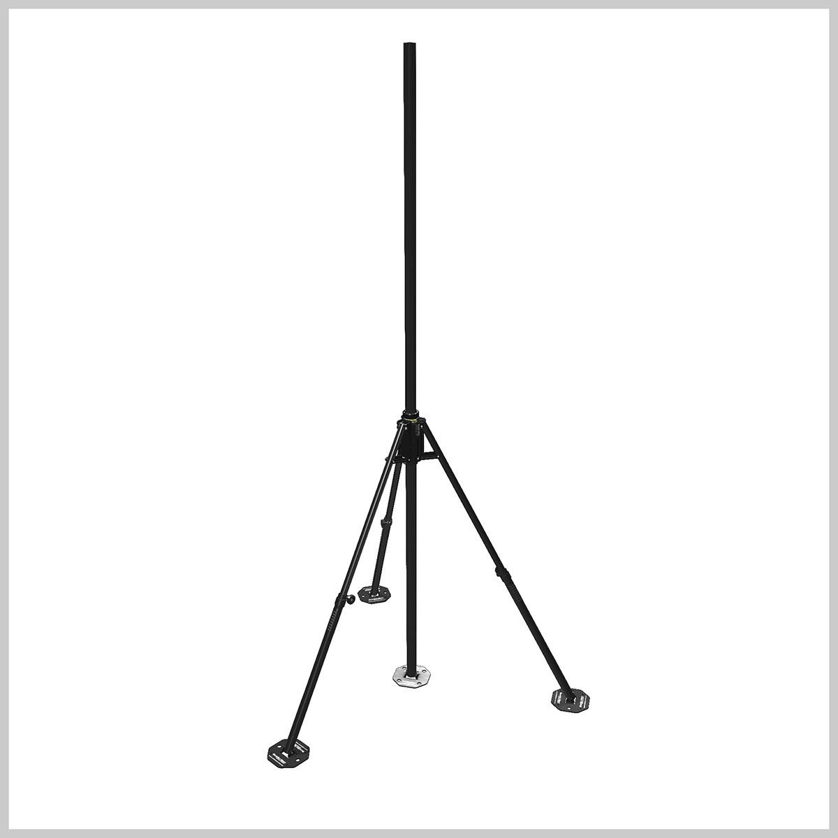 surveillance camera masts