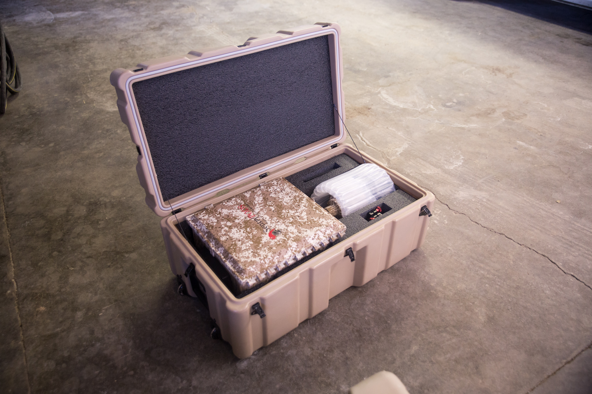Rugged Case For Military Grade Surveillance Camera Transport