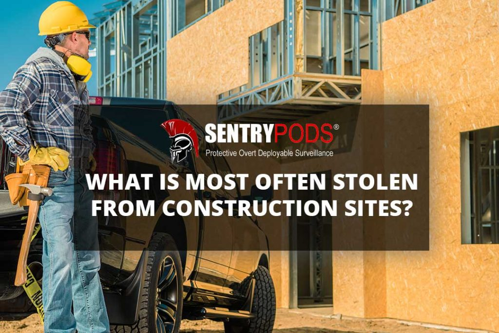stolen items from construction site